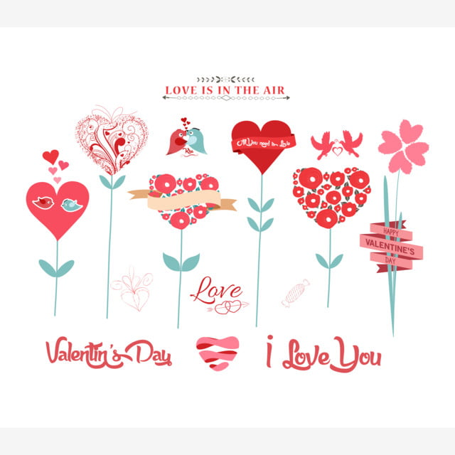 Valentine Hearts Tree Love Icon Woman Png And Vector With Transparent Background For Free Download