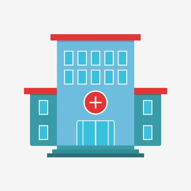 Vector Hospital Icon Hospital Healthcare Medical Png