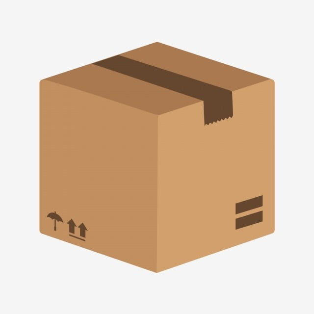 vector package icon  box icon  cargo box icon  package
