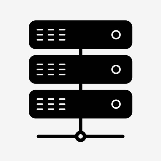 Vector Server Icon, Server, Link, Connect PNG and Vector
