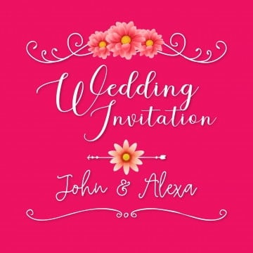 Wedding Card Png Images Vector And Psd Files Free Download On Pngtree