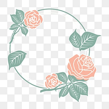 warm floral border mothers day border rose border, Mothers Day, Flower Border, Leaf Border PNG and Vector