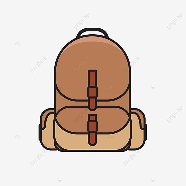 Rucksack Tasche Stil Rucksack Form Schultasche Cartoon Rucksack Rucksack Muster Cartoon Rucksack Png Und Vektor Zum Kostenlosen Download