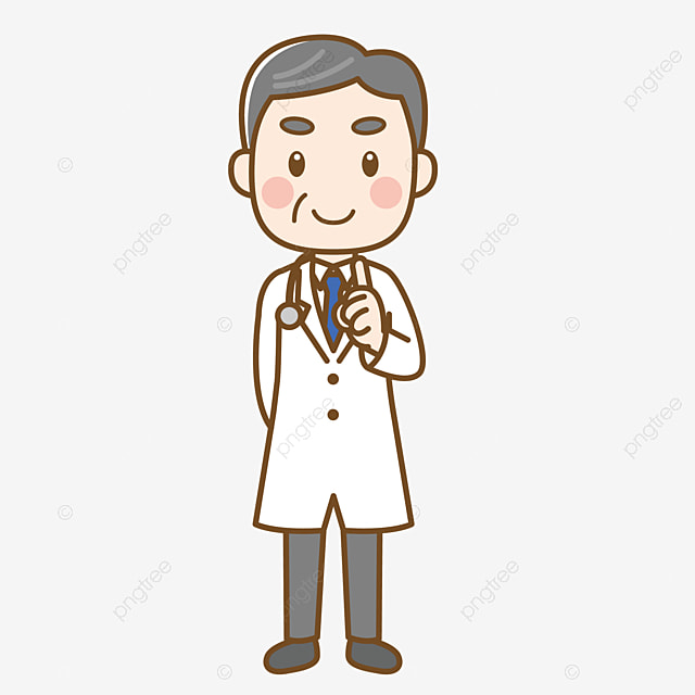 شخصية الطبيب الذكور رجل طبي شخصية عنصر شخصية