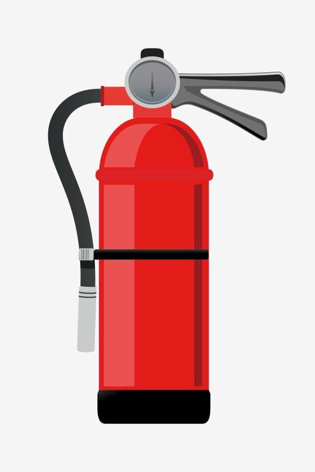 أحمر أسود الهاتفي طفاية حريق أنبوب مقبض أسود التوضيح الكرتون مطفأة حمراء قرص الضغط Png والمتجهات للتحميل مجانا