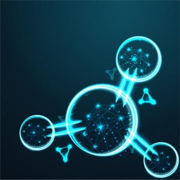 molecule  abstract wire low poly  polygonal wire frame mesh looks like constellation on dark blue night sky with dots and stars  illustration and background, Science, Background, Polygon PNG and Vector