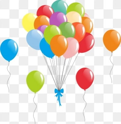 Birthday Balloons Png Images Download 315 Birthday Balloons