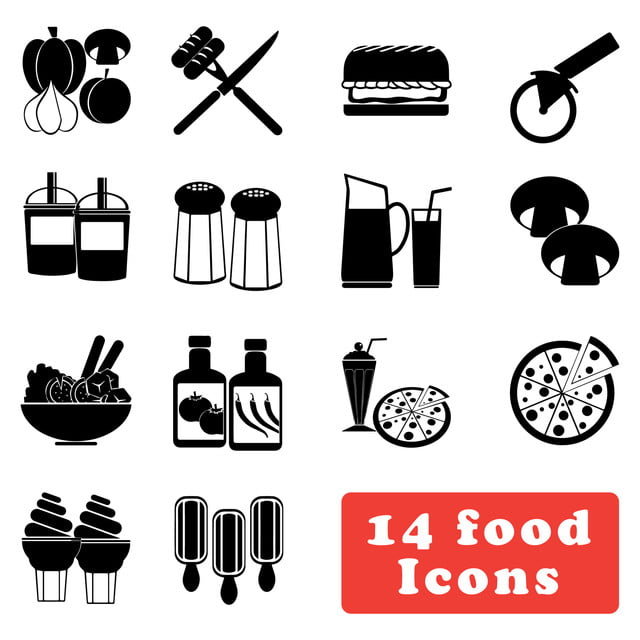 Comida Y Bebida Icono Mejor Para Tu Web Y Mobile App Arte