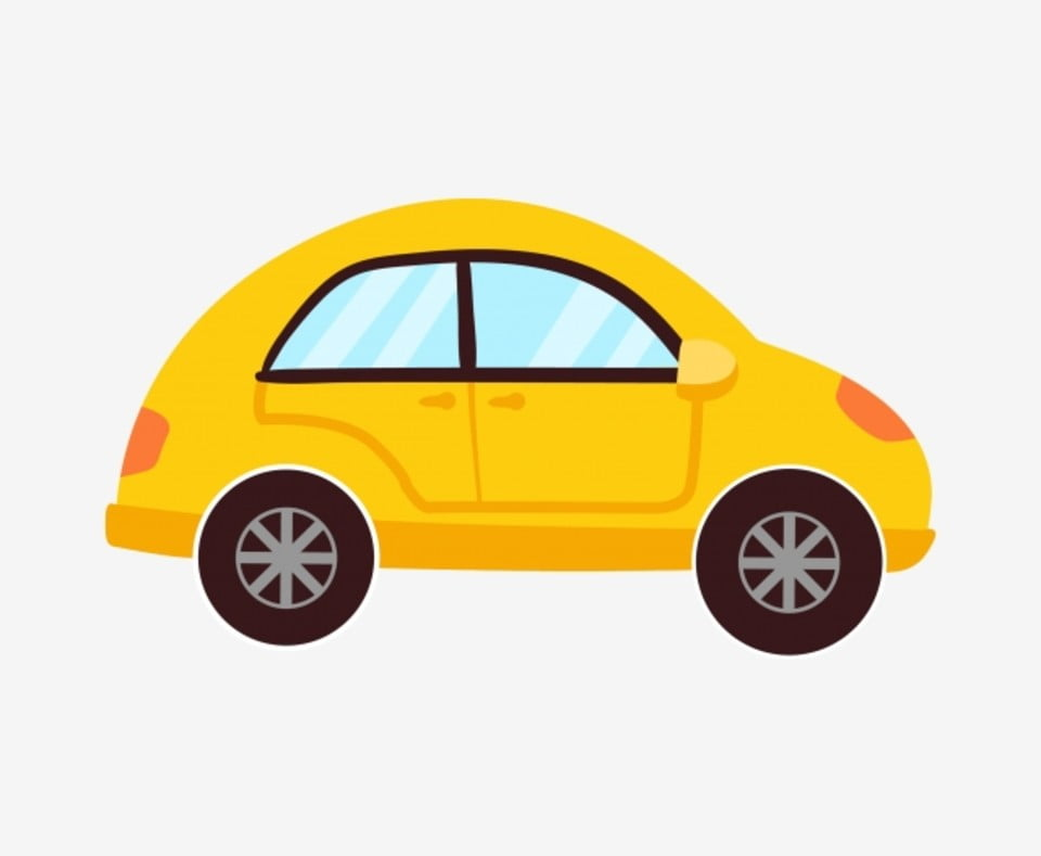 Yellow Car Cartoon Car Classic Cars Car Illustration Car Childrens Toy Car Transportation Png And Vector With Transparent Background For Free Download