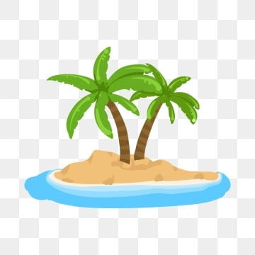 Cartoon Coconut Trees PNG Images   Vector and PSD Files   Free