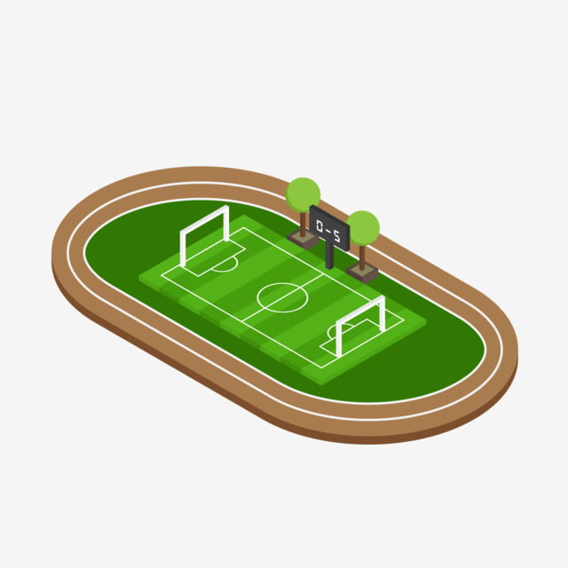 2 5d 2 5d Course Football Football Field, Green Shade, Green
