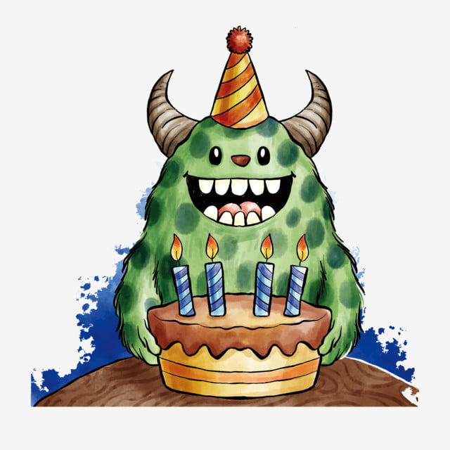Birthday Happy Birthday Birthday Theme Alien, Cartoon