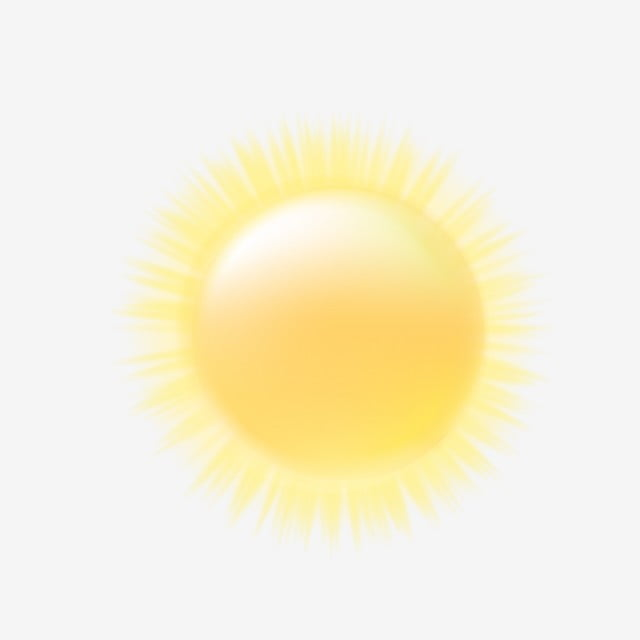Cartoon Cartoon Sun Lifelike Realistic Sun, The Weather, Weather Forecast, Cartoon PNG and Vector