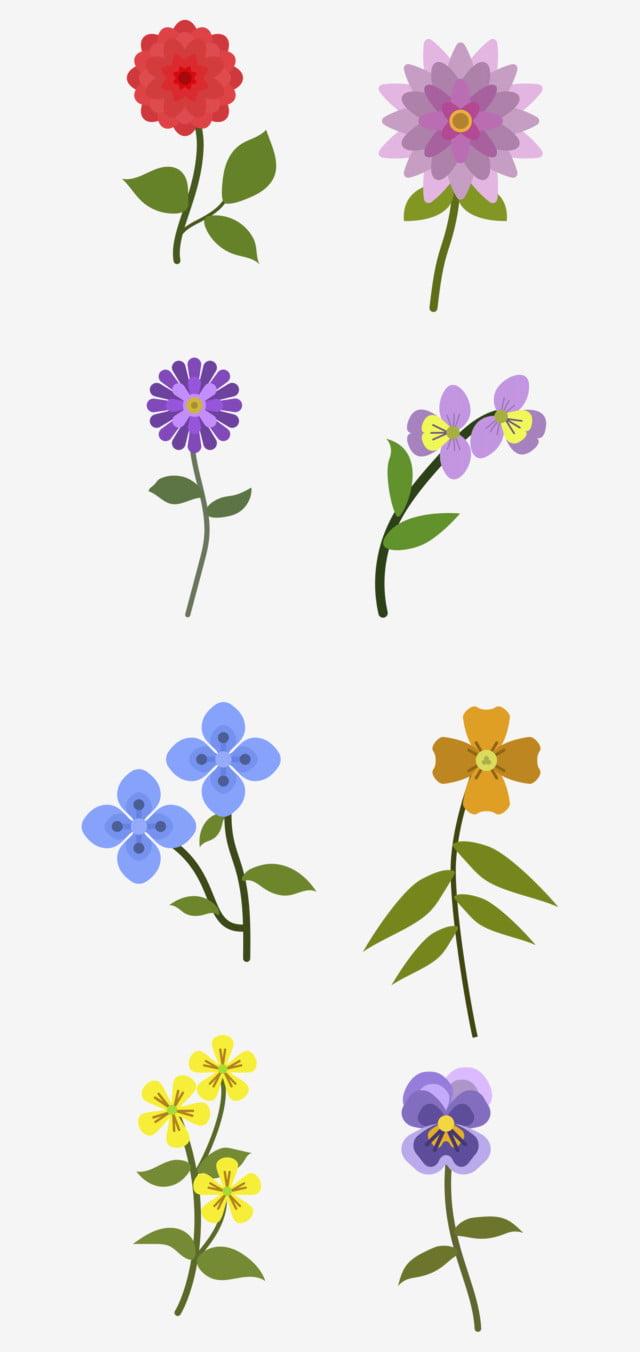 Dessin Denfants Fleur Petite Fleur Printemps Jeune Enfant