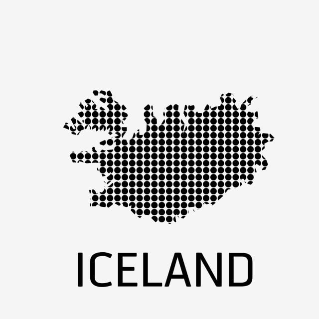 Iceland Map Icon, Iceland, Map, World PNG and Vector with ...