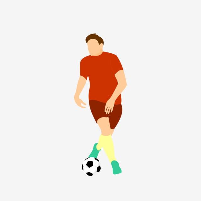 60ec61a5d7858 Patear La Pelota El Futbol Futbolista Jugador Patear La Pelota ...