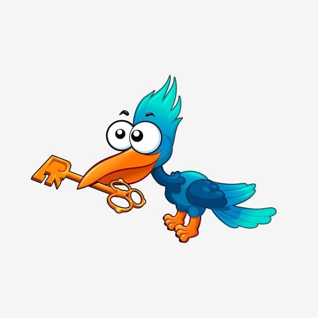 Burung Nuri Kartun Burung Nuri Kartun Mengeluh Burung Nuri Biru