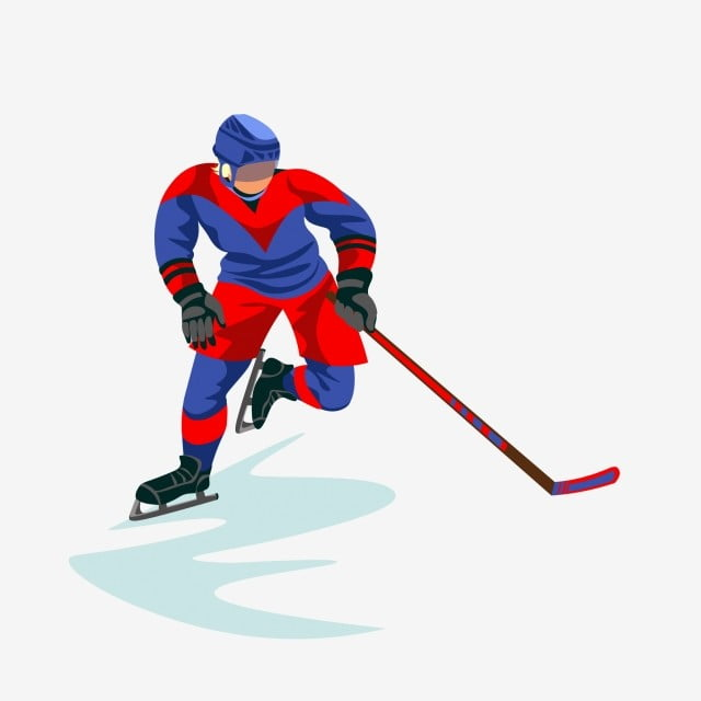 Puck Ice Hockey Player Athlete Cartoon Cartoon Hockey Cartoon Hockey Player Athlete Png And Vector With Transparent Background For Free Download