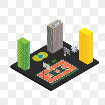 Basketball Court Model Vector Png Court Basketball