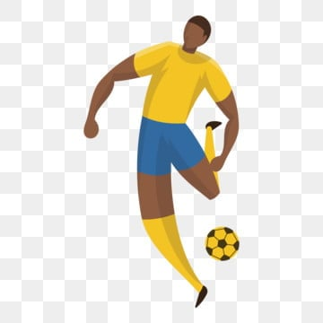 football soccer player athlete cartoon, Cartoon Athlete, Lovely, Cute Athlete PNG and Vector