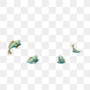 рыбка зеленая зеленая рыбка много рыб, Рыба клипарт, Мультфильм рыба, милая маленькая рыба PNG ресурс рисунок и векторное изображение