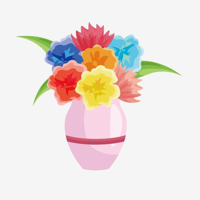 Gambar Bunga Dalam Pasu Kartun Gambar Bunga Keren