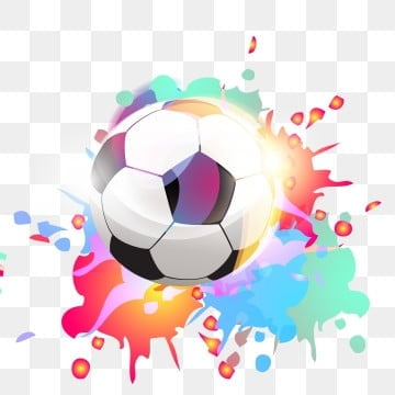 colorful world cup colorful football cool world cup cool football, Red, Blue, Gradient PNG and Vector