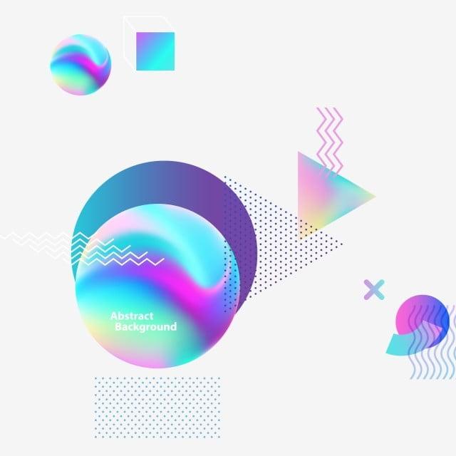 Gradiente De Líquido De Forma Irregular De Color Colorear