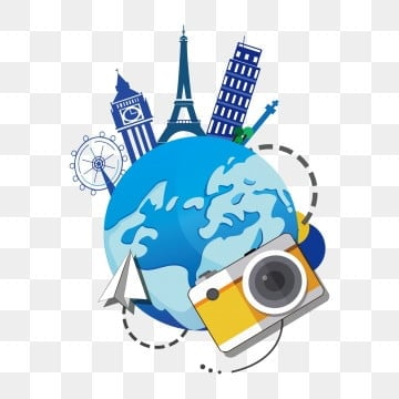 travel to land travel abroad tourism tourism tourism promotion, Travel Clipart, Famous, All Around PNG Images and vector graphics
