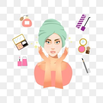 Skin Care Cartoon Png Images Vector And Psd Files Free Download On Pngtree