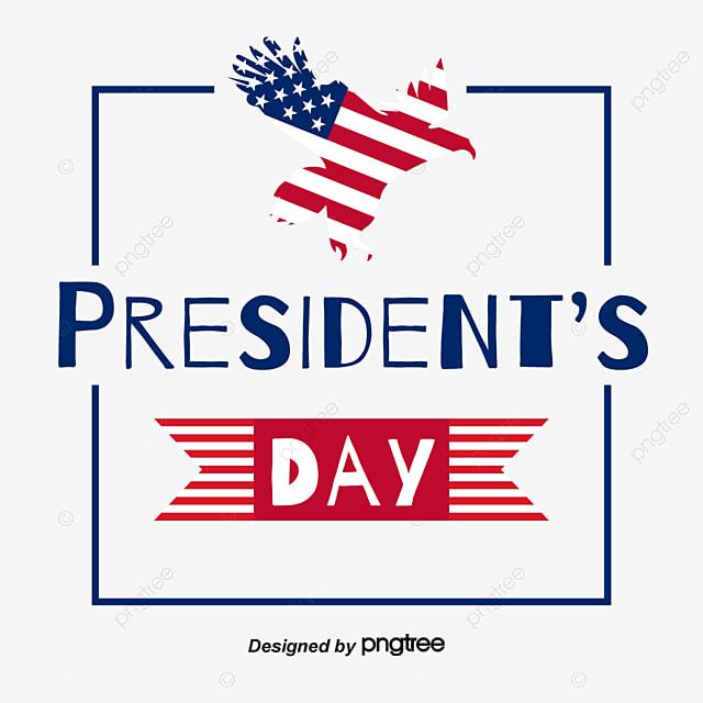 elemental design of the eagle flag us presidents day