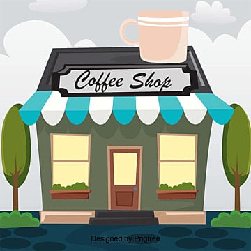Coffee Shop PNG Images | Vector and PSD Files | Free Download on ...