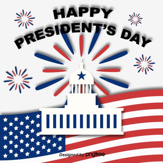 illustration elements of american presidents japanese flag celebration