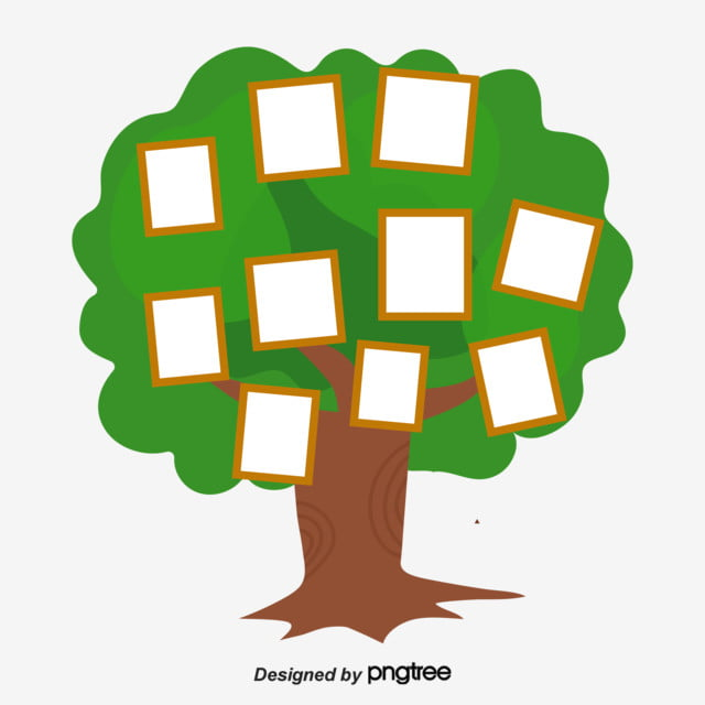 simple hand painted creative family tree  relationship  hand drawn  tree png and vector with