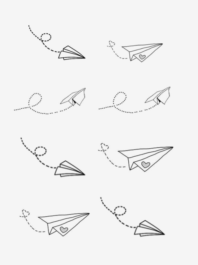 Paper Airplane Png Vector Psd And Clipart With