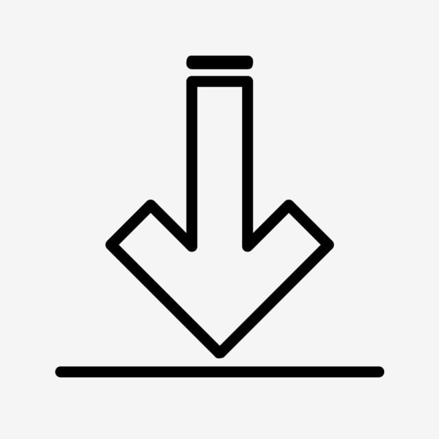 Vector Download Icon Download Icons Down Arrow Icon Data Icon Png And Vector With Transparent Background For Free Download