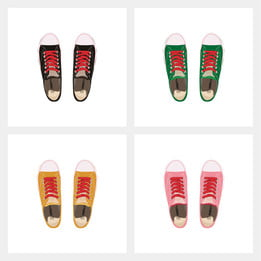 multicolor canvas shoes spring and autumn models shoes 7afced6d0