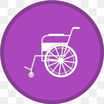 La Chaise Roulante Glyphe Cercle Multi Couleur De FondPresident Handicap Les PNG Et Vecteur