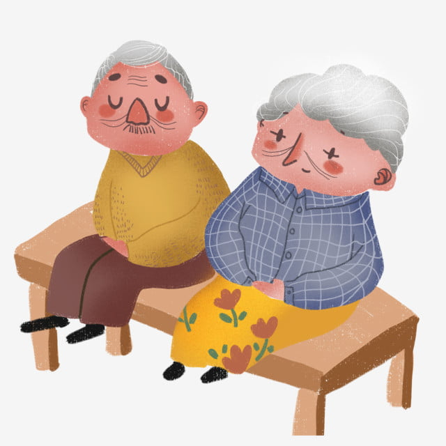 Картинки анимация бабушка и дедушка, победой конкурсе