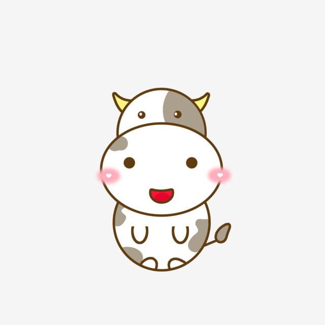 Gambar Kartun Tatu Hitam Dan Putih Haiwan Tatu Lembu Susu Duduk Elemen Comel Kartun Hitam Dan Putih Haiwan Png Dan Psd Untuk Muat Turun Percuma