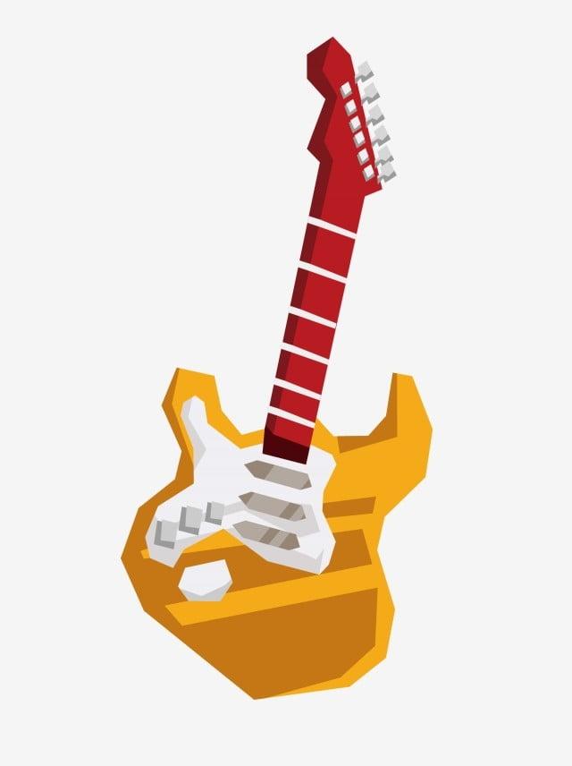 Ilustración Drawing Guitarra Eléctrica Hipster Dibujos Www