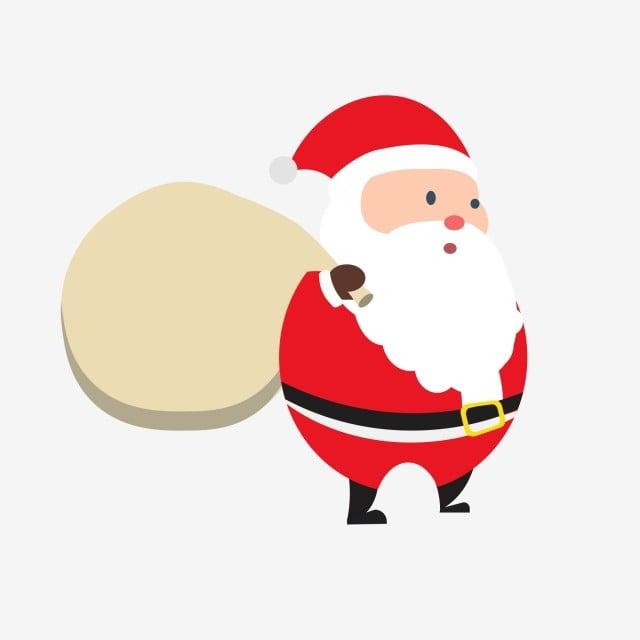 Christmas Images Free Cartoon.Cartoon Hand Drawn Santa Claus Holiday Christmas Cartoon