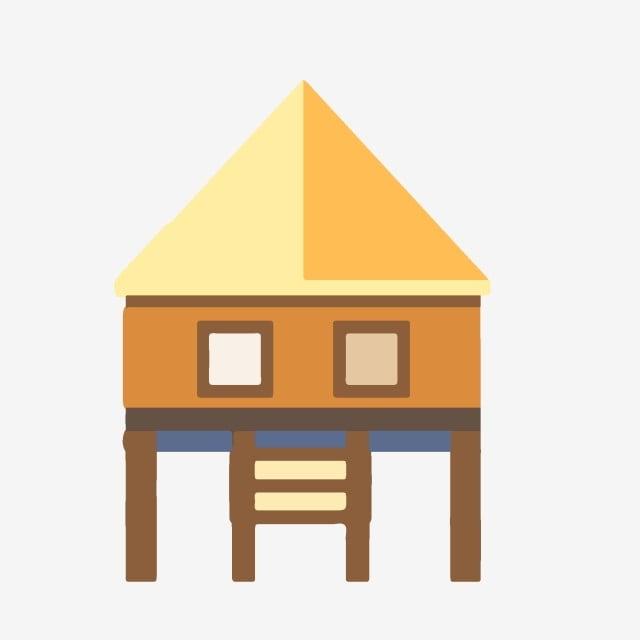 Element De Maison De Dessin Anime Maisons Maison Facile Image Png Pour Le Telechargement Libre