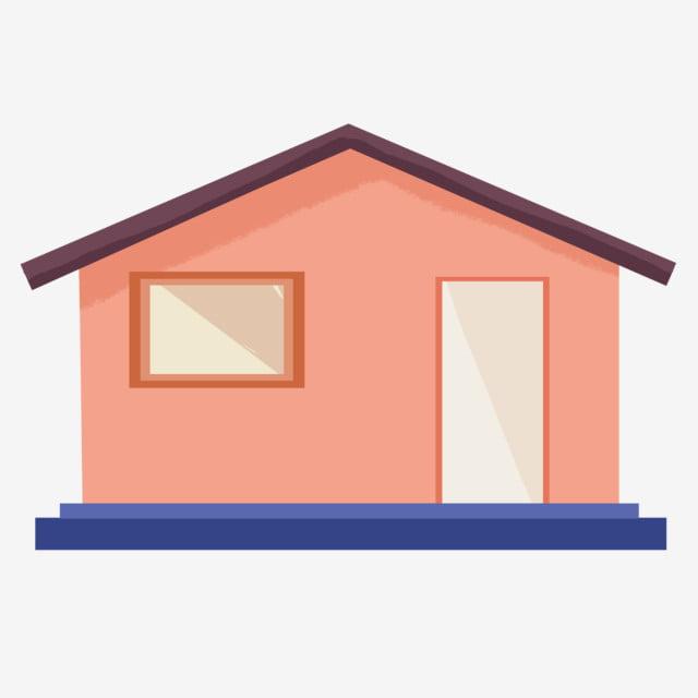 Design Minimaliste De Maison Dessin Animé Avec Des éléments