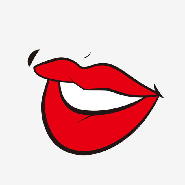 Cartoon Pop Style Lip Material Cartoon Lips Pop Style Lips Lips Png And Vector With Transparent Background For Free Download