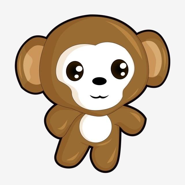 Cute Cartoon Monkey Commercial Material Monkey Cartoon Animal