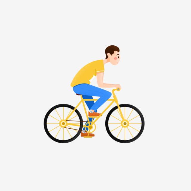 دراجة هوائية كرتون