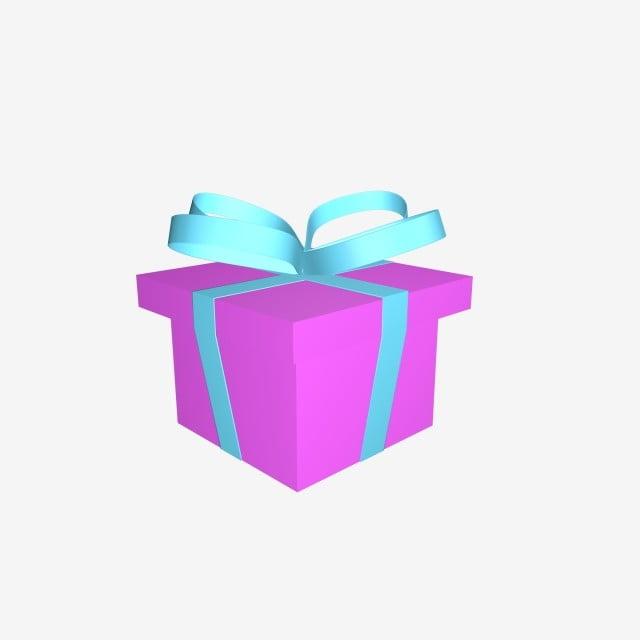 3d Christmas Gift Box C4d Material, 3d Gift Box, C4d Gift