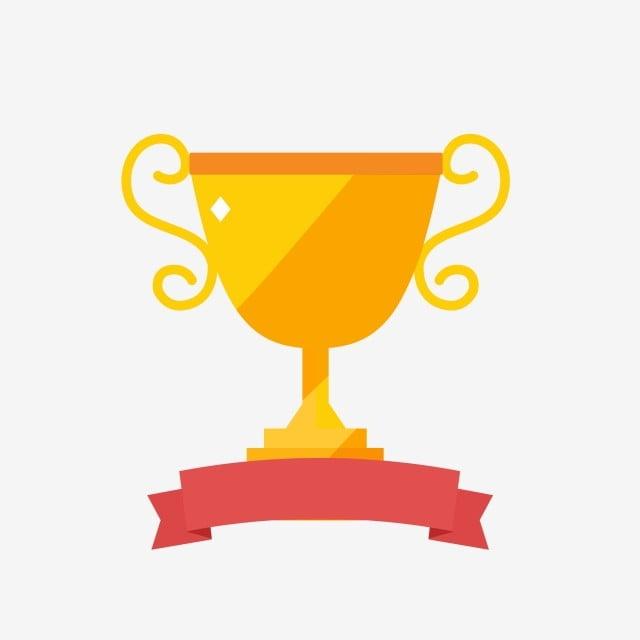 Trophée Dhonneur Champion Jaune Matériel, Honorer, Trophée, Champion Fichier PNG et PSD pour le téléchargement libre