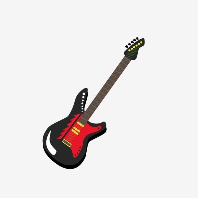 Festival De Música Instrumento De Rock Guitarra Eléctrica De Dibujos